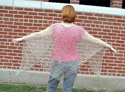 Crochet Patterns For Lace Weight Yarn : Patterns for knitting using yarn from the Tongue River Farm